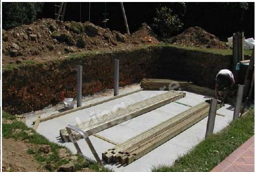 piscine bois nortland ubbink ocea allongee en kit 860x470x130 cm piscineindustrie. Black Bedroom Furniture Sets. Home Design Ideas