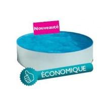 Kit Piscine Hors Sol Acier Ronde Splasher 3.50 m LEKINGSTORE