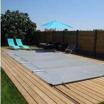 Bâche à barres pour piscine rectangulaire 720x400 cm