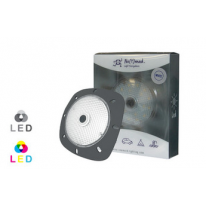 projecteur led gris