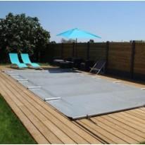 Bache à barres pour piscine rectangulaire 505x350cm