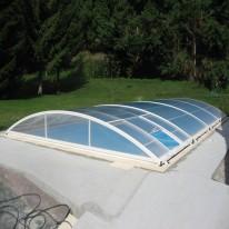 Abri de piscine Relevable sur Mesure