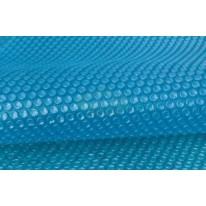 Bâche à bulles 180μ bleu pour piscine ronde hexagonale ⌀410cm