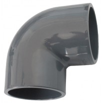 Raccord PVC Coude 90° 0.50 cm - LEKINGSTORE