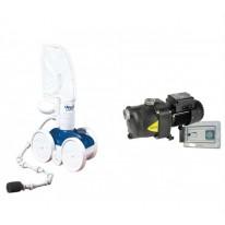 Pack Robot Polaris 380 – Surpresseur Eurocom 3 – Coffret horloge Surfil pour fond de piscine