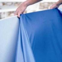 Liner Bleu 30/100ème pour piscine ronde Ø 550XH122 cm