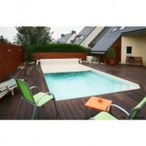 Volet roulant pour piscine rectangulaire 420x320cm
