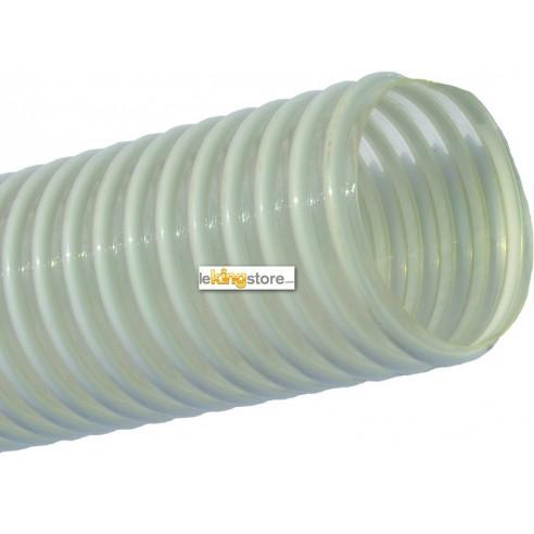 Tuyau PVC Spiralé Diamètre 38 mm  - 25m de long