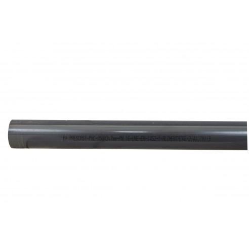 Tube PVC Pression PN 16 - Diamètre 63 mm - Longueur 1 m- LEKINGSTORE